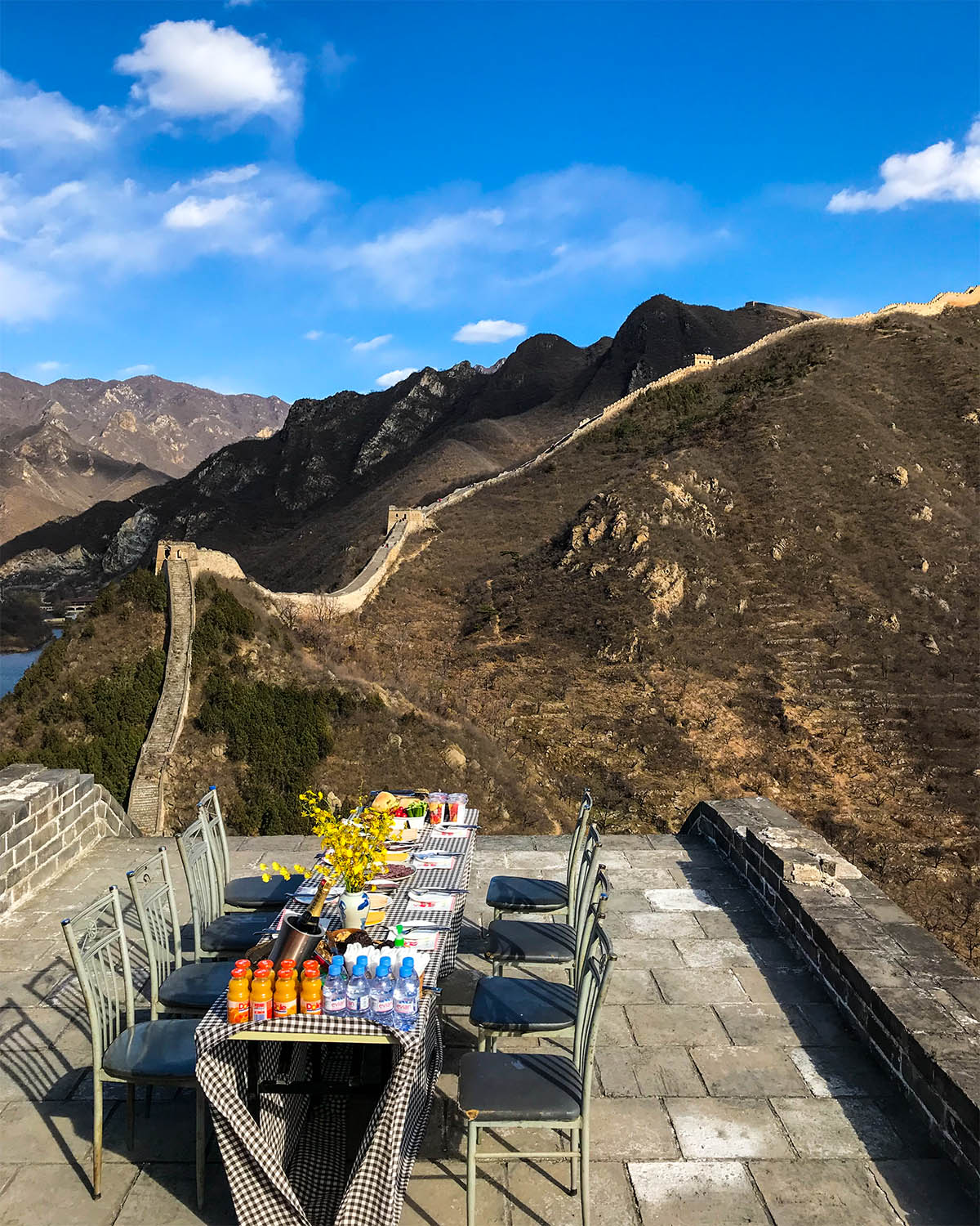 Great Wall of China Private Access Lunch