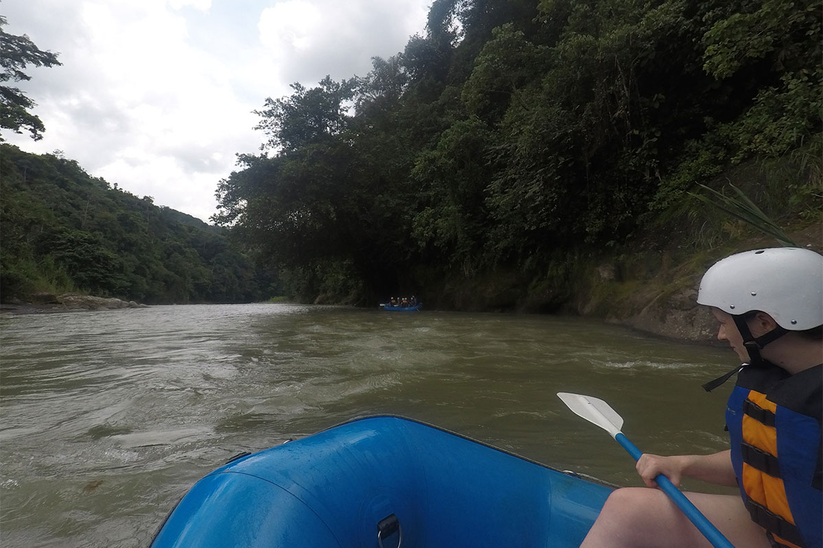 Canoeing in Costa Rica