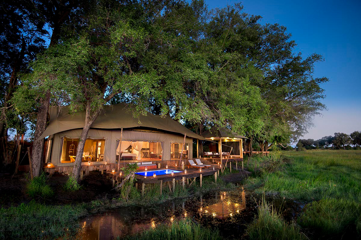 Duba Plains Camp - Botswana