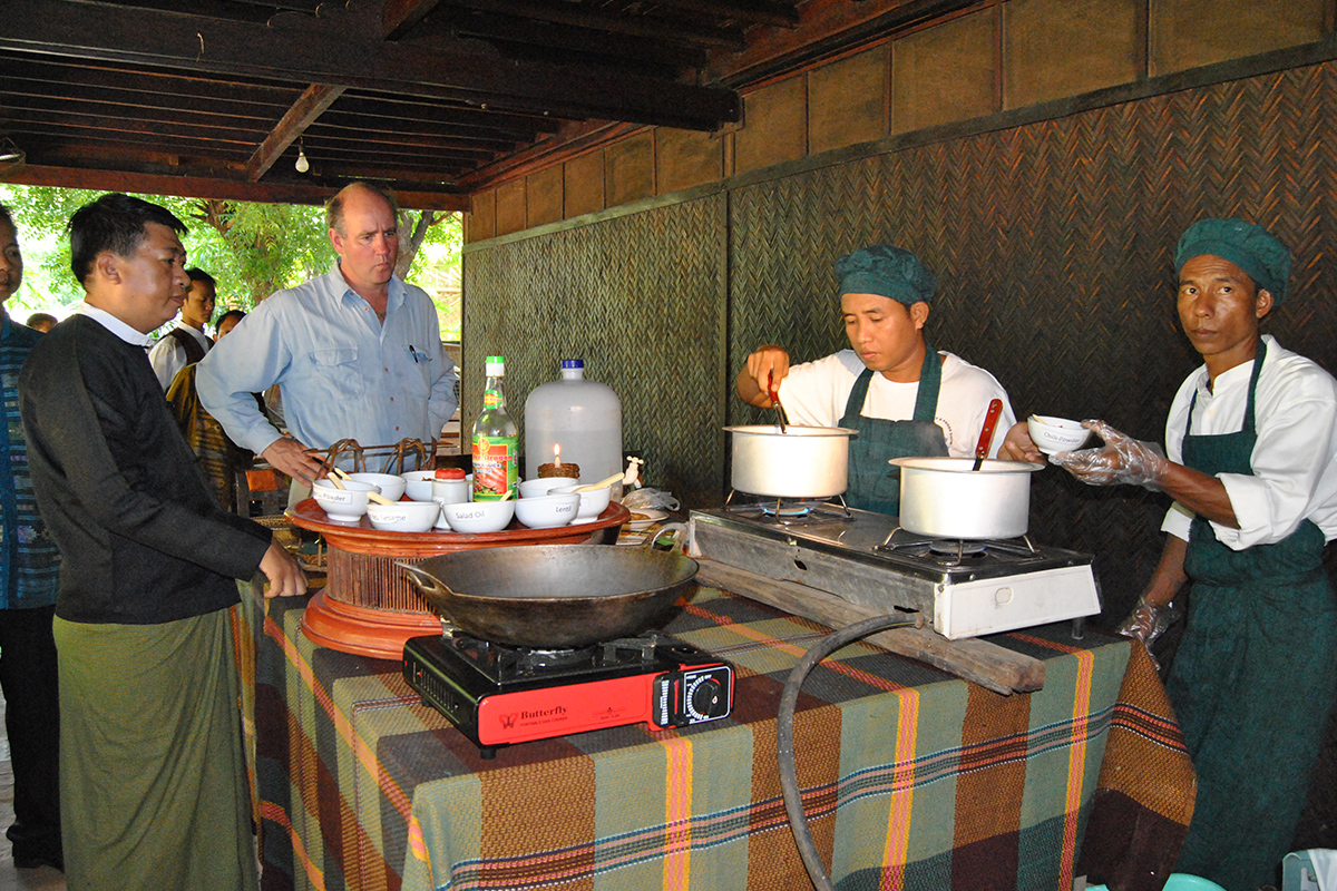 Cooking in Burma with cazenove+loyd