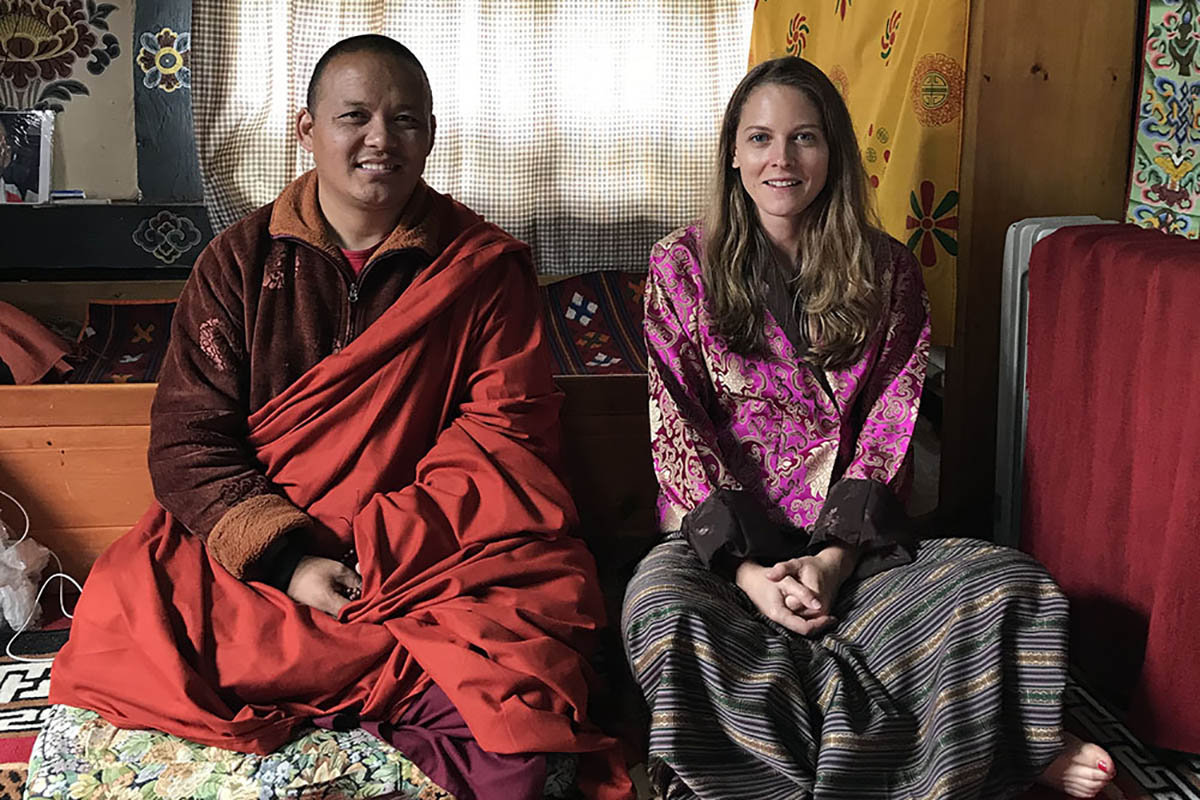 Learning from a Head Lama in Bhutan