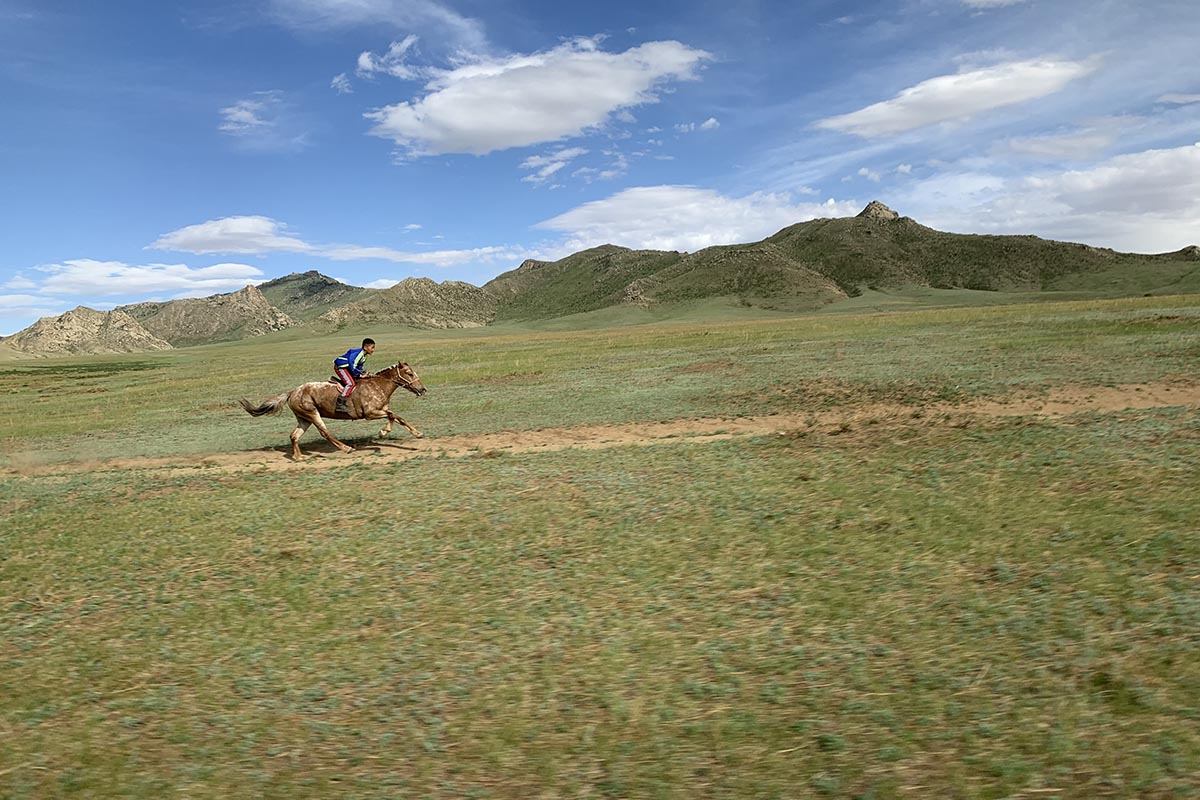 Riding with Mongolian Eagle Hunters