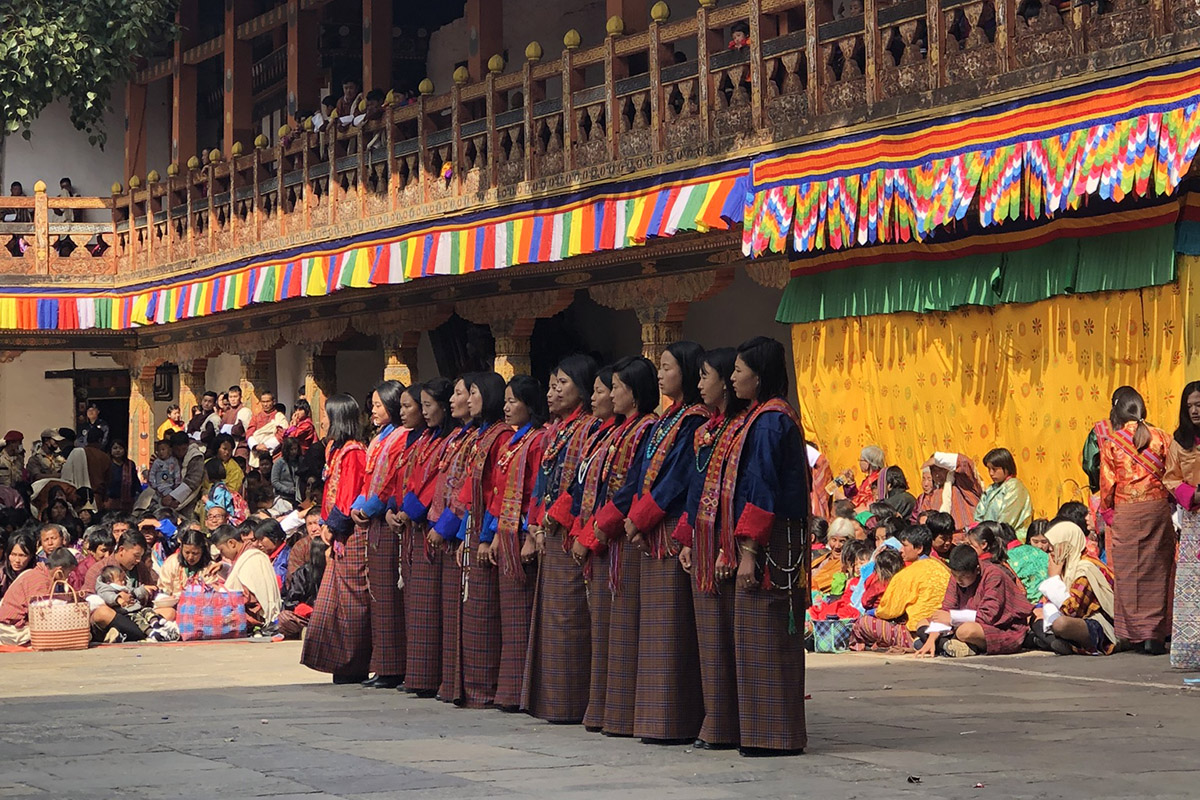 Experiencing the Punakha Festival in Bhutan