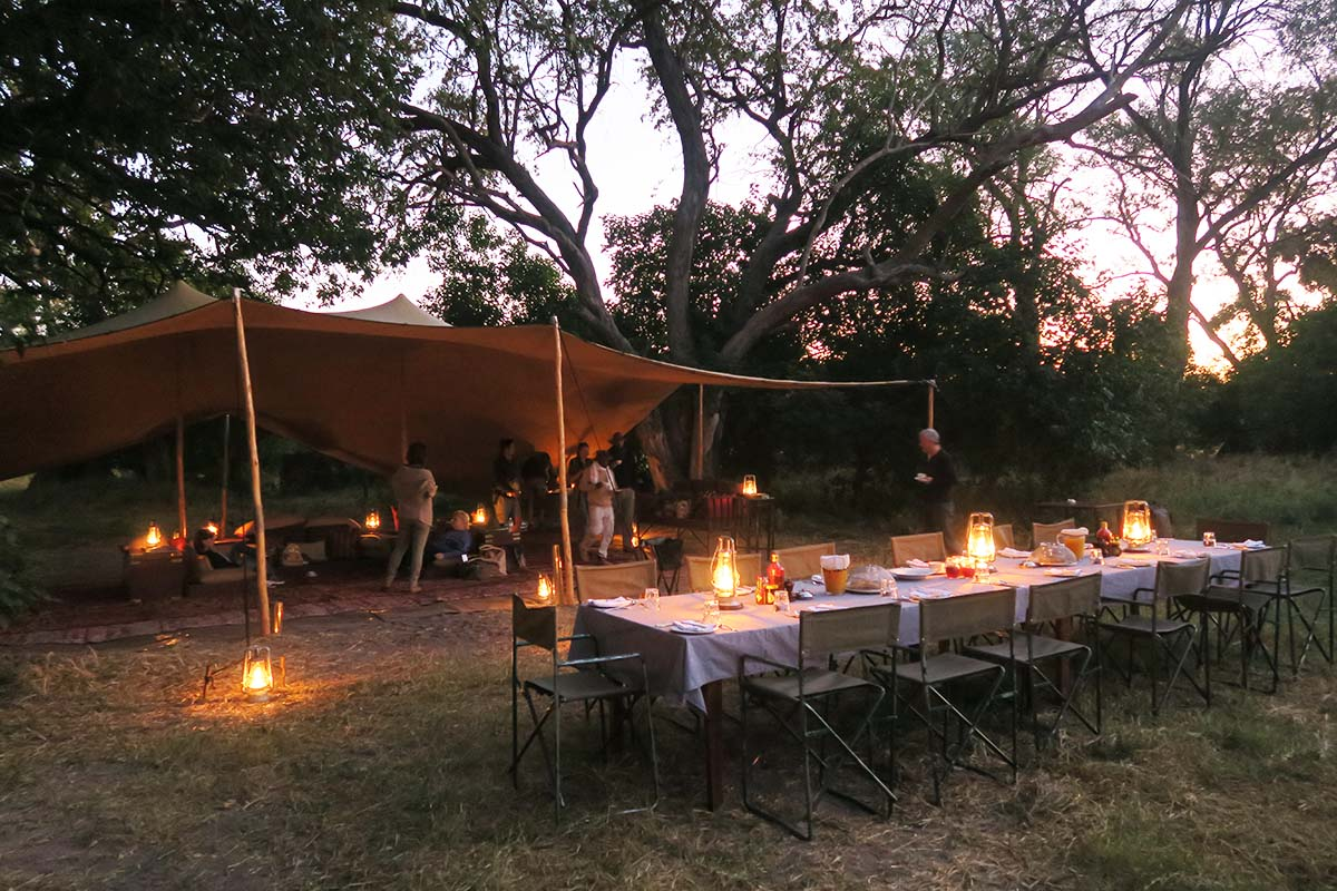 Moremi Mobile Tented Camp