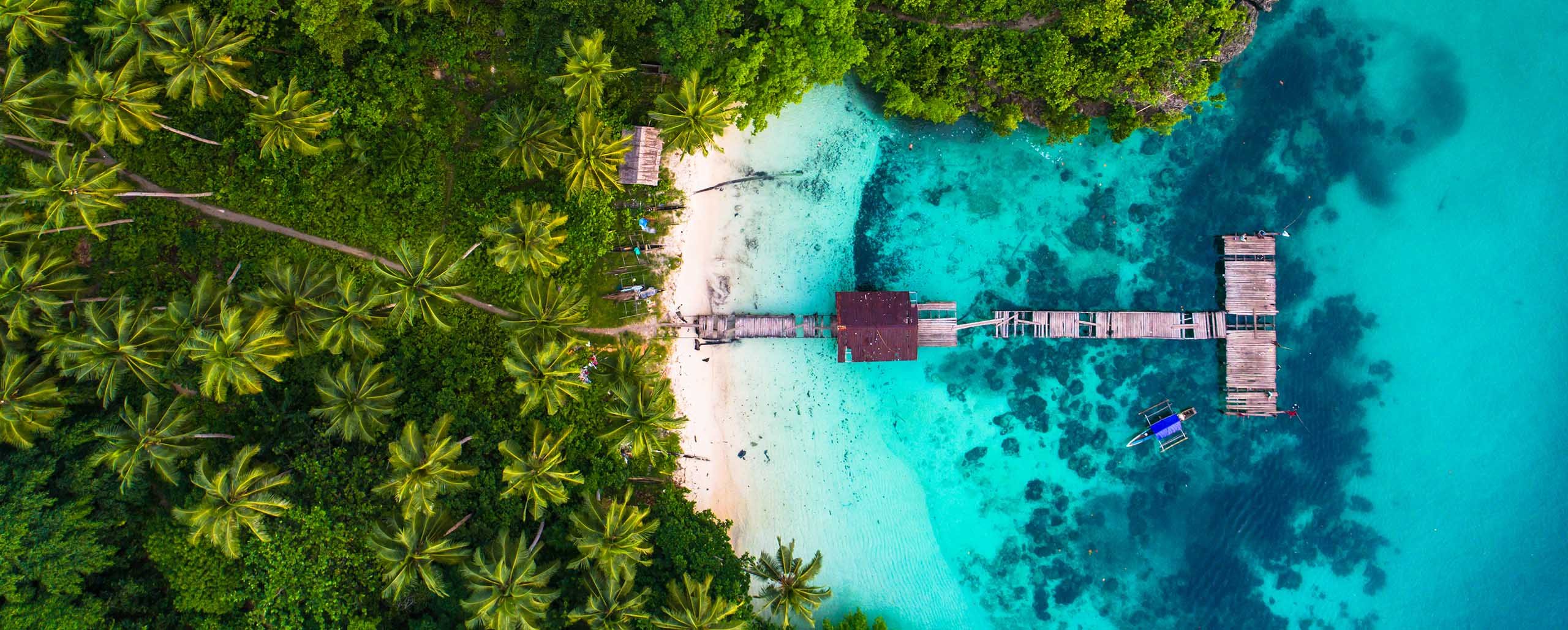 Island-hopping on the extraordinary Prana by Atzaro in Raja Ampat, Indonesia