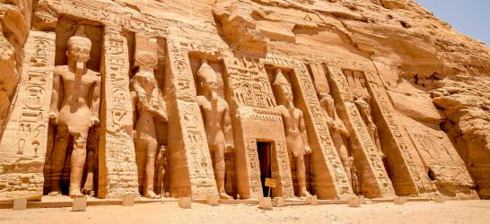 Discovering the temples of Abu Simbel