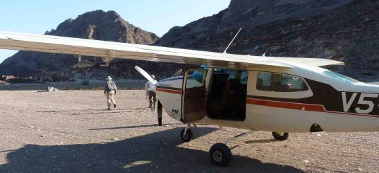 Flying Safari Namibia