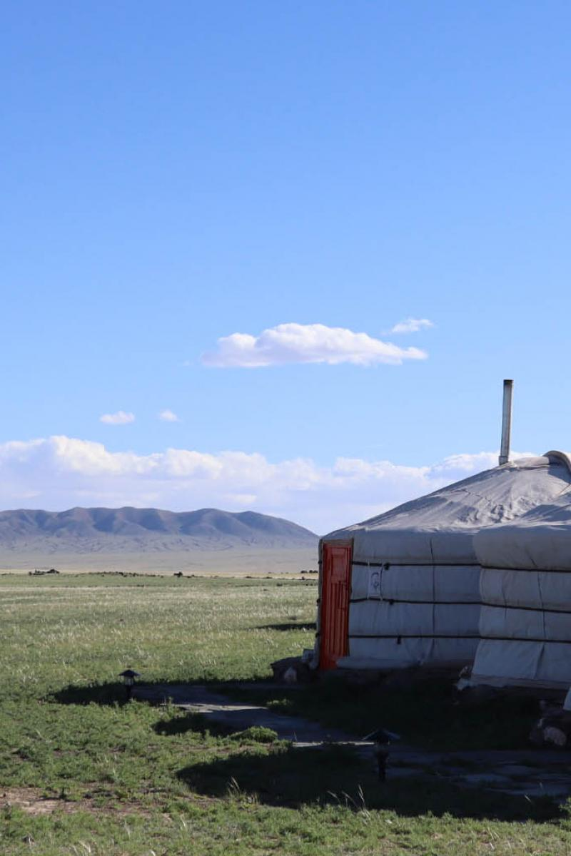 Our stay at Three Camel Lodge, Mongolia